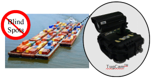 TugCam on Barge - Eliminate Blind Spots
