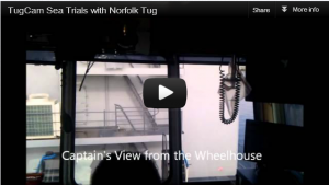 YouTube - TugCam Sea Trials During Blind Push